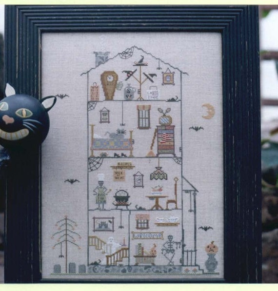 Ezmeraldas House - cross stitch pattern by Brightneedle