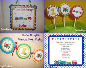 Choo Choo Train Ultimate Party Package