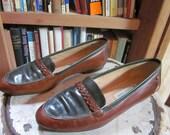 SALE - Vintage 80's  Etienne Aigner  preppy loafers