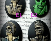Large Elvis Skeleton Cameo---Custom choices for my jewelry only 30 x 40