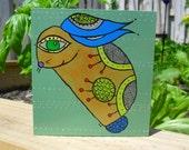 Art Block - little bunny golden