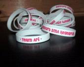 Team Ari, Support SMA Research Silicone Bracelet