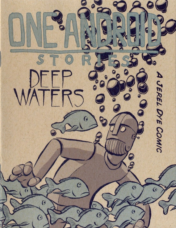 One Android Stories: Deep Waters - Mini Comic