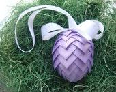 Ribbon Easter Egg Purple Ribbon