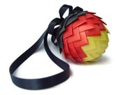 German Flag Ribbon Ornament