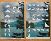 Mt. St. Helens Printed Postcard Set of 8