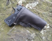 Black Right Handed Airsoft Pistol Holster