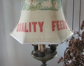 Primitive Bridge Lamp Shade