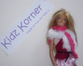 Barbie Scarf and Purse