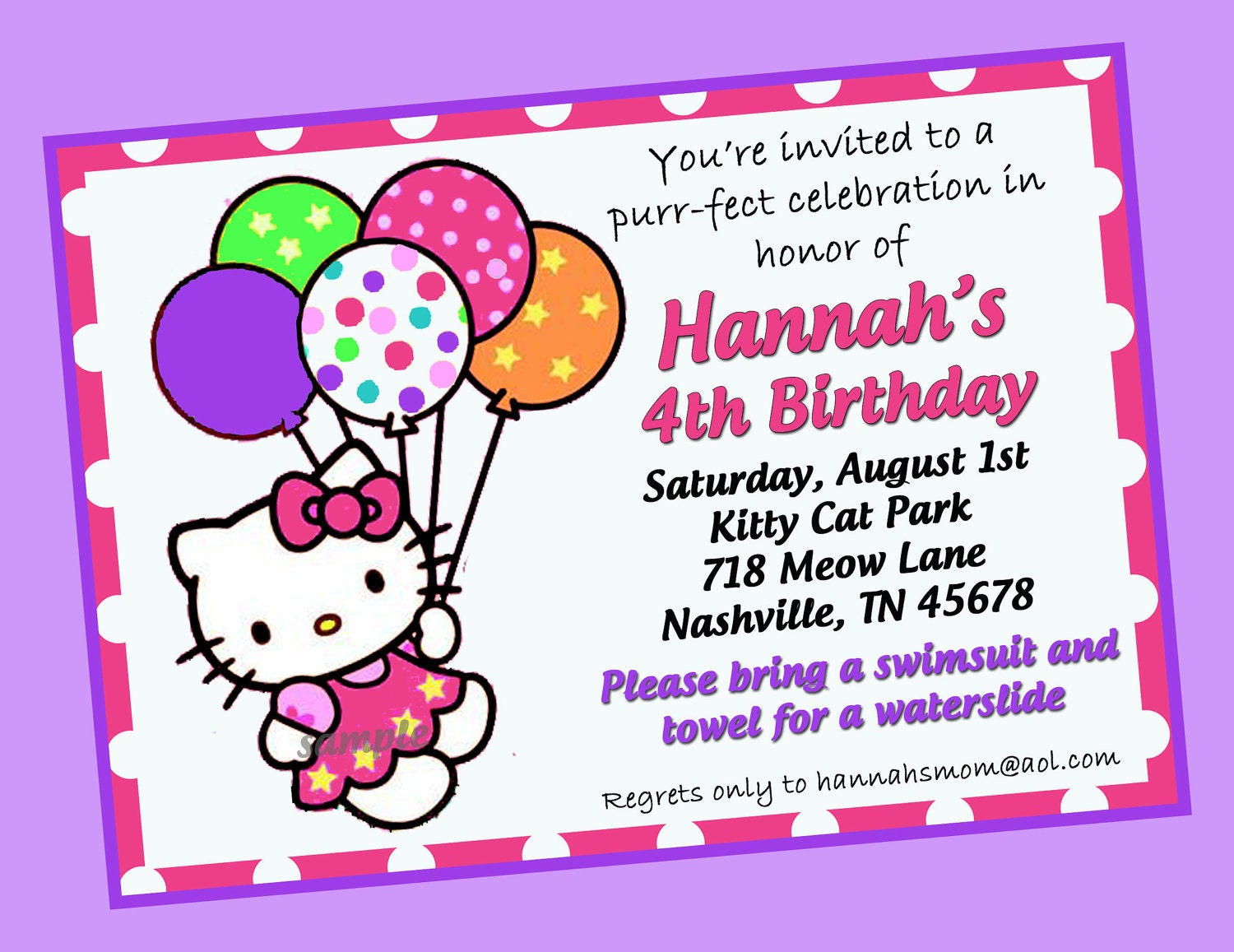 hello kitty invitation printable hello kitty invitation printable 128270zoom