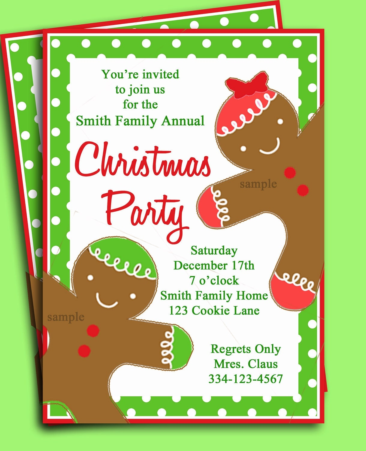 Christmas Potluck Invitations for amazing invitations ideas