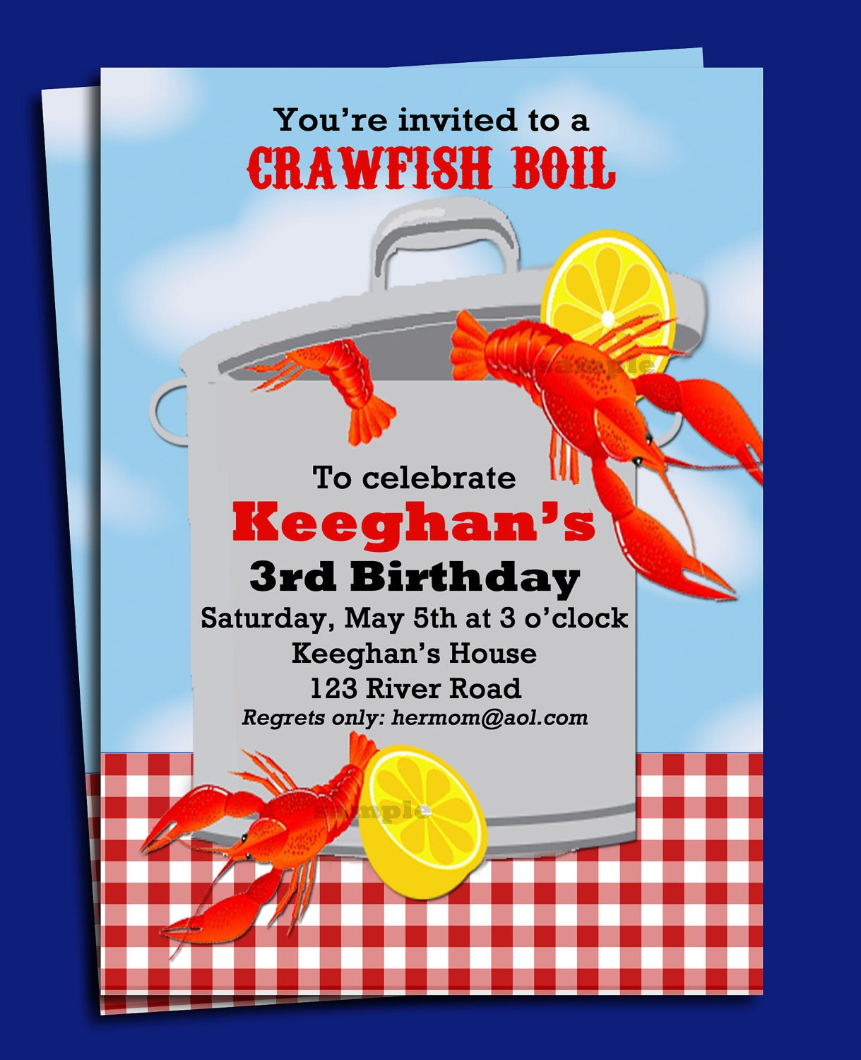 Gargantuan image pertaining to crawfish boil invitations free printable
