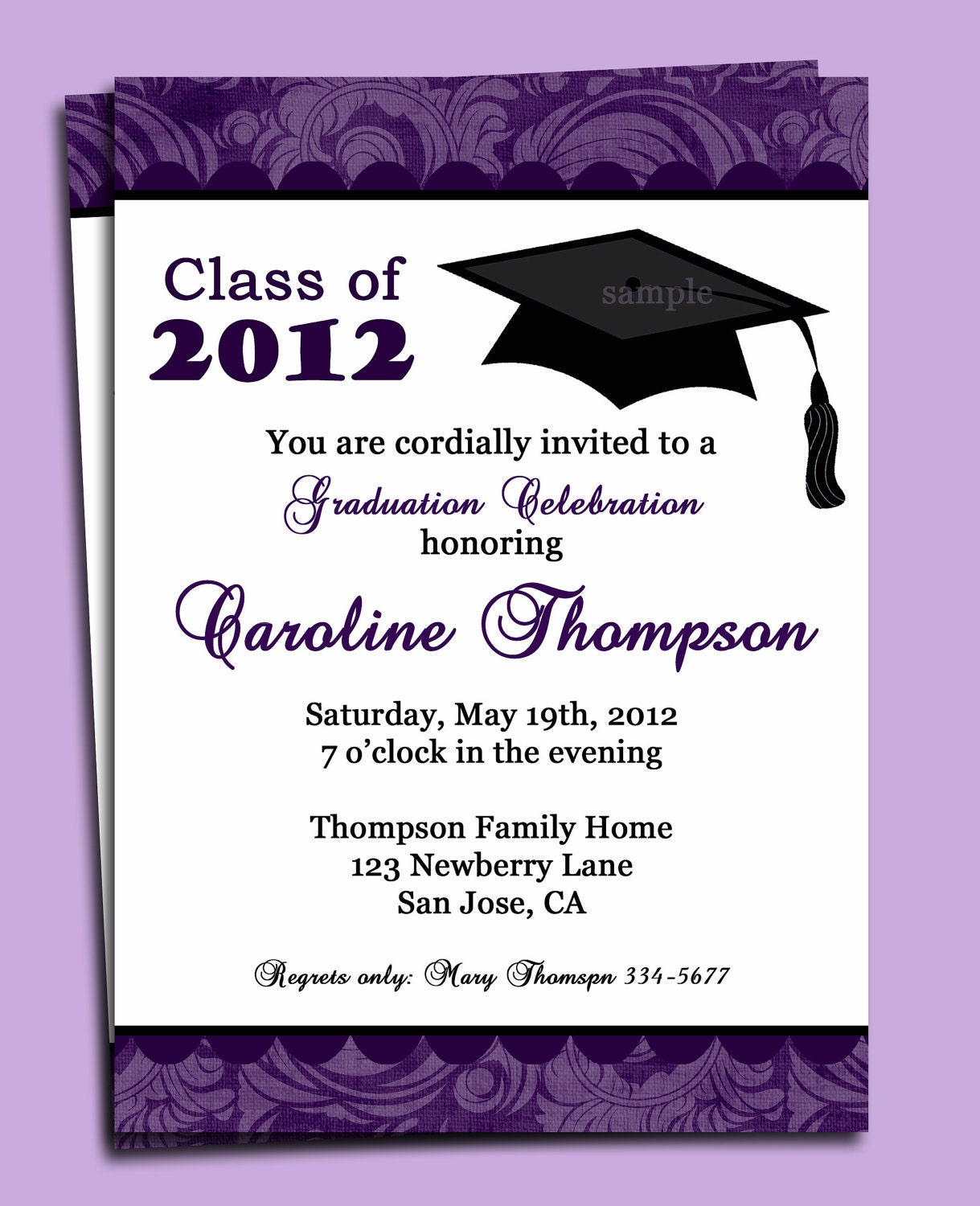 create cards graduation invitations