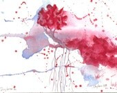 Daybreak - Original Watercolor - 4x6 inches