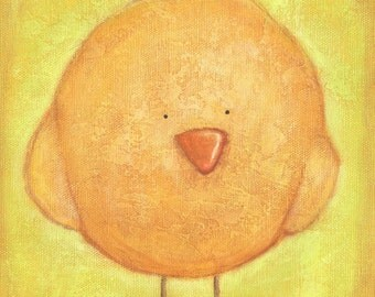 Fluffy Chick Print 8x10 by Megumi Lemons