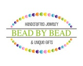 Premade Logo and Watermark Design . Beaded Oval