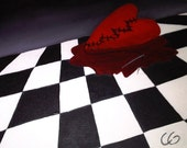 Original Oil Painting on Canvas - (Broken Heart) Sad Truths and Evil Lies