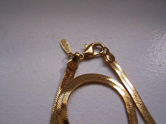 Napier Herringbone Necklace
