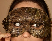 Depths of the Forest Faery Masquerade Mask
