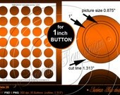 """INSTANT DOWNLOAD - 1.313 inch Circles for 1"""" buttons TEMPLATE 28 Printable Badges Accessories Jewelry Stickers Cards Hangtags Print Your Own"""