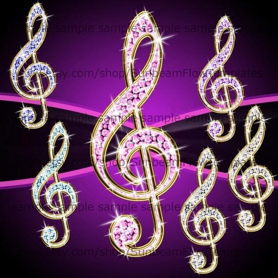 Instant download clipart chiave di violino 01 png elementi - Immagini violino a colori ...