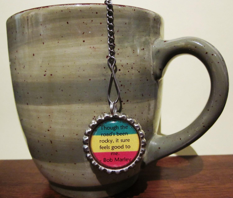 tea infuser bottle cap charm rocky road 2 mesh by