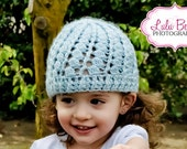 Handmade crocheted Lacy hat Sizes Preemie/Baby through adult