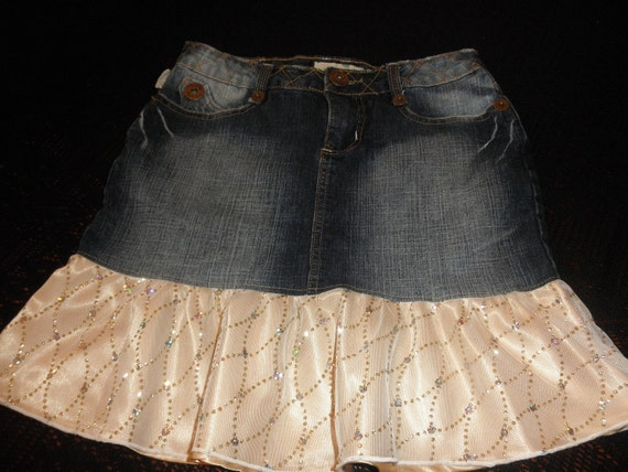 Junior Denim Skirt