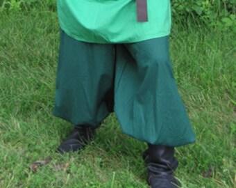 Cotton Medieval Pants. SCA LARP Rennaissance