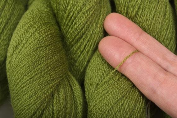 Recycled Extra Fine Merino Yarn, Leaf , 700 yards