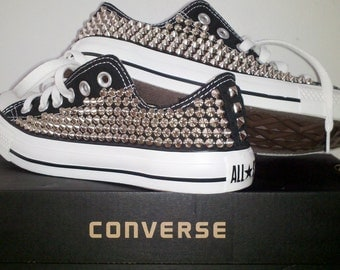 Cone Spike Studded Converse Shoes