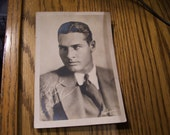 Richard Arlen Rembrant Studios in St. Paul, MN Inscribed Picture Rare