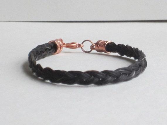 Three-strand Horse Hair Bracelet
