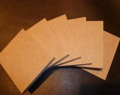 """24 ATC Blanks 1/4"""" MDF strong for mosaic or other art"""