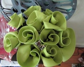 Custom Record Flowers