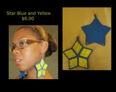 Star blue and yellow