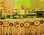 Dora the Explorer Jungle Adventure DIY Customized Happy Birthday Banner