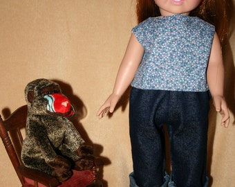 "Jeans for 18"" Doll."