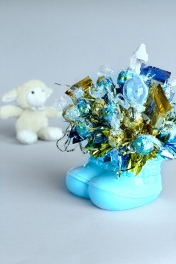 It's a Boy Chocolate Candy Bouquet