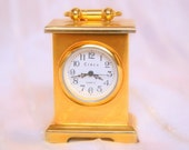 Black Friday/Cyber Monday Sale Miniature Clock Gold