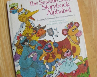 The Sesame Street Storybook Alphabet Book