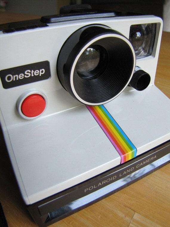 Vintage Polaroid Land Camera - One Step