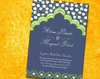 PRINTABLE Program Design PALACE ROMANCE Diy Wedding Invitation Suite Template Pdf Indian Asian Morocco Middle Eastern Ceremony Order Service