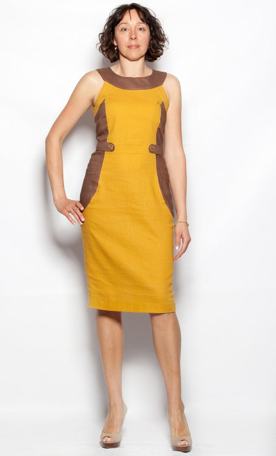 Linen Dress that goes with any shoe style