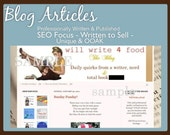 Blog Articles- Professionally Written & Published- SEO Focus- Written to SELL- Unique and OOAK