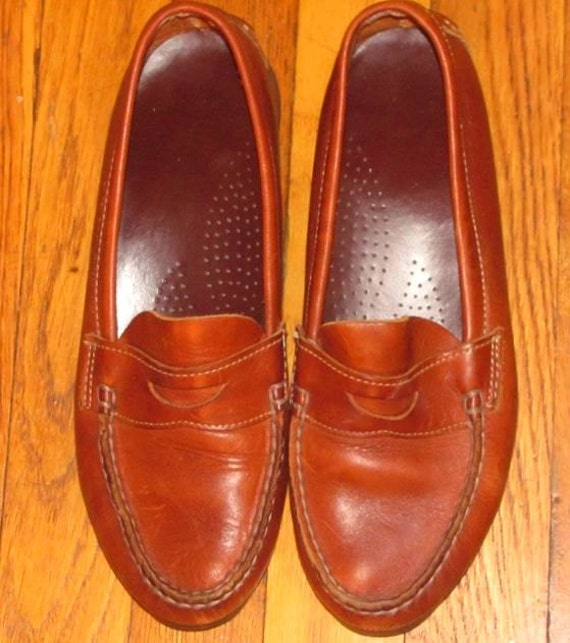 Light Brown Leather Dexter Loafers SALE