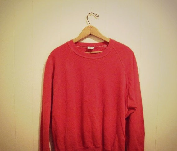 Vintage 80's Red Dickies Super Comfy Sweatshirt