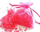 Pink Sugar Aroma Bead Sachet, Scented Aroma Beads, Air Freshener, Sugar Scented Gift, Pink Party Favors, Scented Gifts