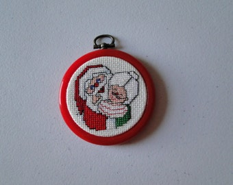 Mr. and Mrs. Claus Ornament