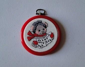 Caroling Mouse Ornament